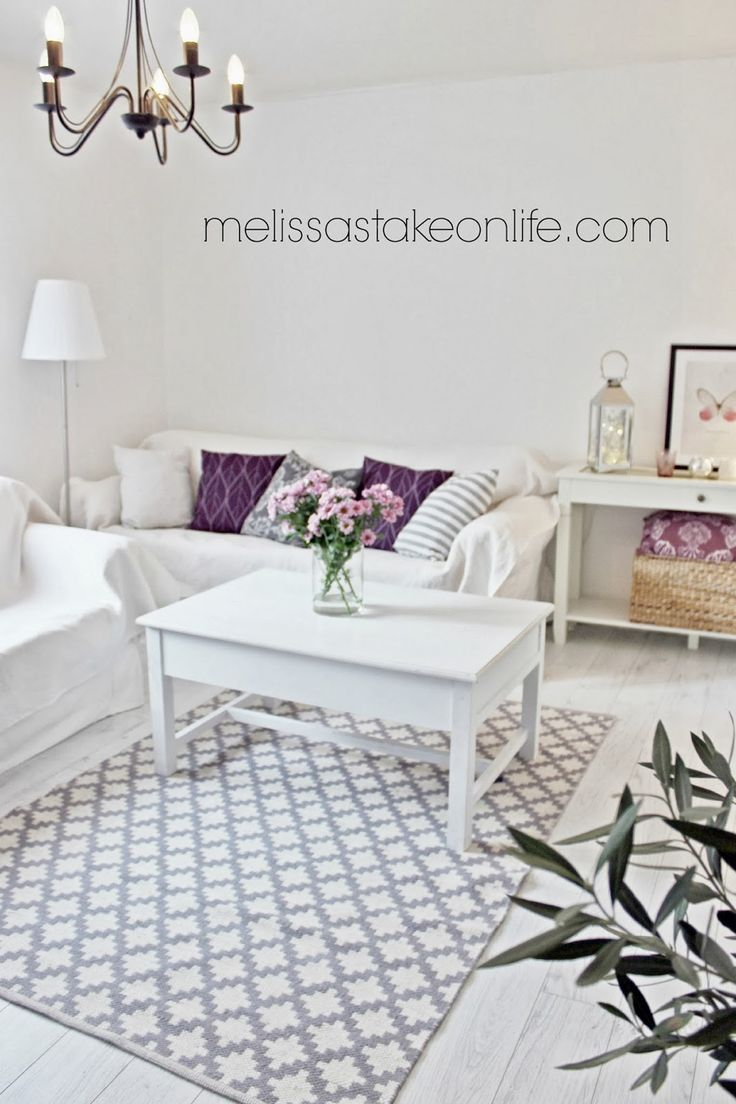 Lilac in the livingroom