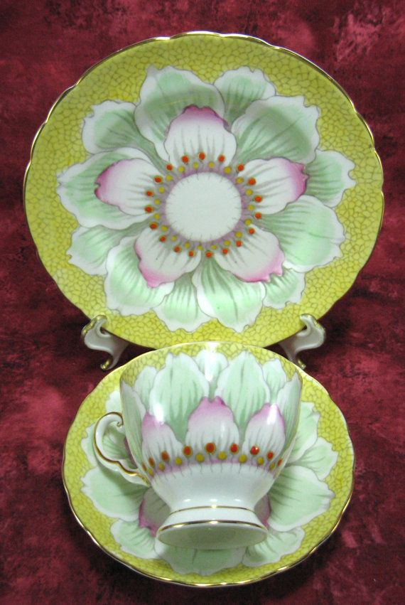 RESERVED for Hilary:  Vintage Cup And Saucer by AntiquesAndTeacups