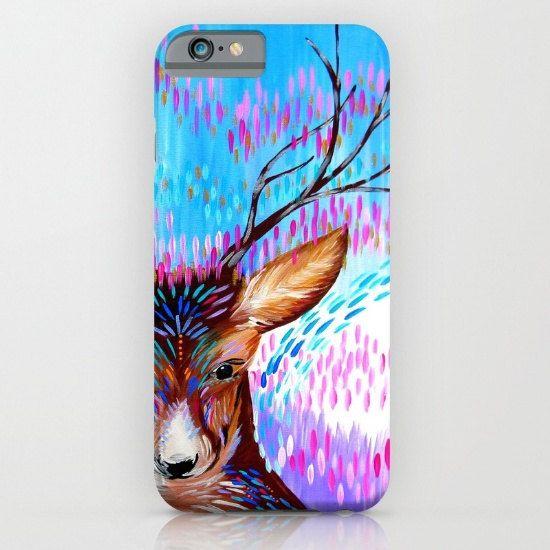 phone case with deer deer phone case deer print on by SuchFlair