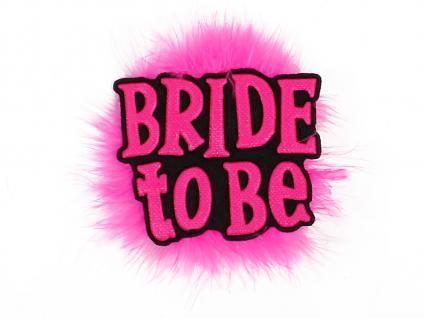 Alsino Bride to be Brosche JGA Schmuck Junggesellinnenabschied Party Anstecker - Vorschau