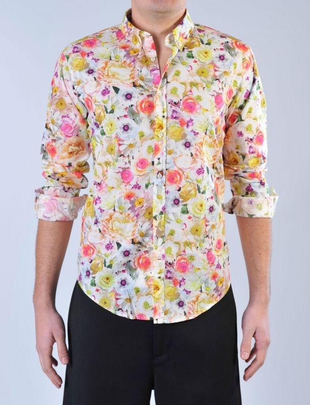 MSGM - Camicia floreale multicolor | Di Pierro http://www.dipierrobrandstore.it/product/1811/Camicia-floreale-multicolor.html