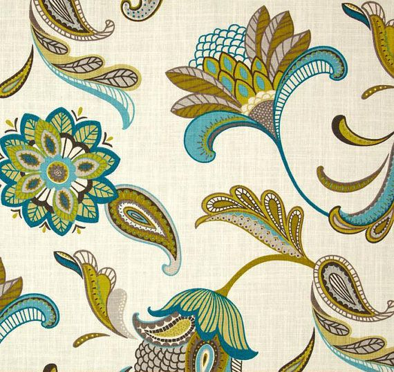 17 best ideas about Paisley Curtains on Pinterest | Paisley fabric ...