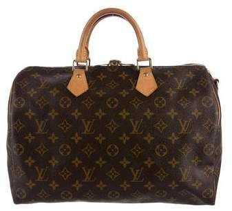 Louis Vuitton Monogram Speedy Bandoulière 35