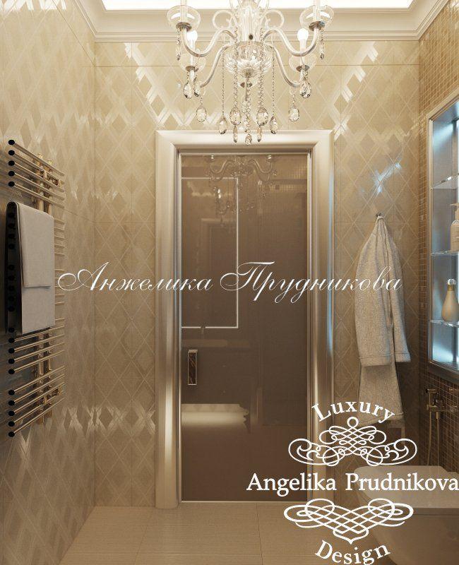 Дизайн проект интерьера квартиры в ЖК Лобачевский в стиле Ар Деко