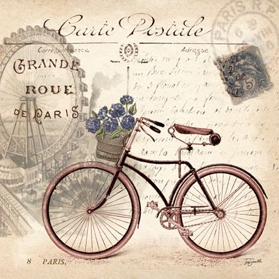 Vintage Bicycle II ~ Tre Sorelle Studios