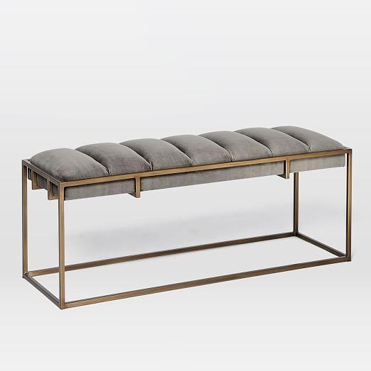 Modern Furniture Ottoman best 25+ upholstered ottoman ideas on pinterest | diy ottoman