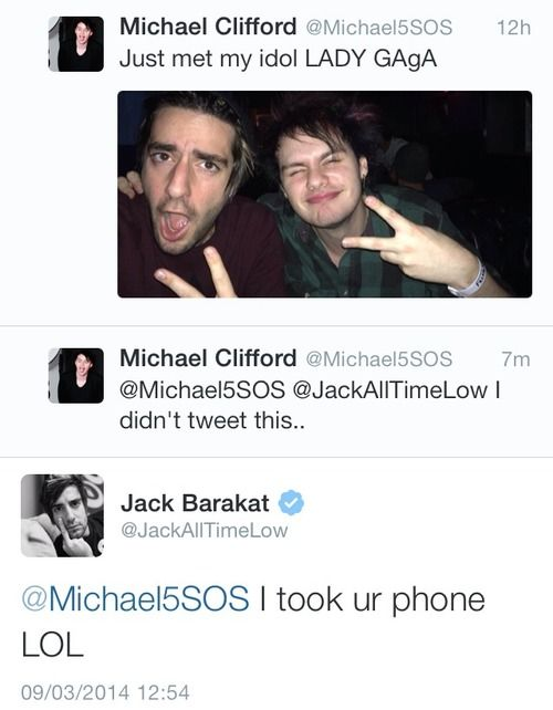 JACK BARAKAT + MICHAEL CLIFFORD = THE LITERAL DEATH OF ME. ASDFGHJKL.....I'M LITERALLY DYING