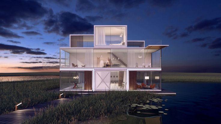 Nizozemský architekt Janjaap Ruijssenaars ze studia Universe Architecture přišel s prototypem domu, který se staví podle legendární počítačové hry Tetris.