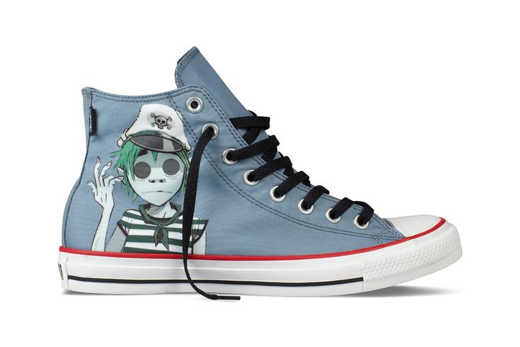 Gorillaz for Converse Chuck Taylor All Star Collection July Release Tenis Converse, Converse Shoes, Men's Shoes, Converse Chuck Taylor All Star, Converse All Star, Chuck Taylor Sneakers, Chuck Taylors, Hipster Shoes, Outfits