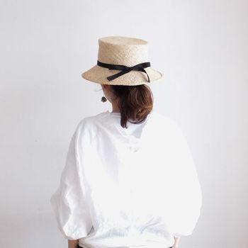 """自分に馴染む""""マイ帽子""""を見つけよう。「BERRETTA(ベルレッタ)」の麦わら帽子 https://kinarino.jp/cat1/12472"""