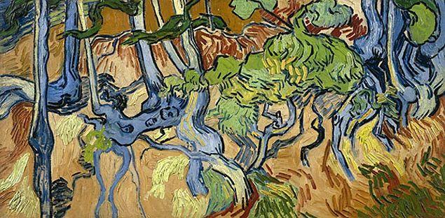 Винсент Ван Гог. Корни деревьев. 1890