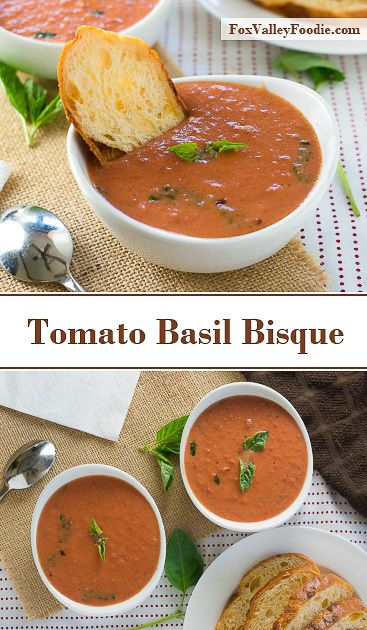 Tomato Basil Bisque recipe