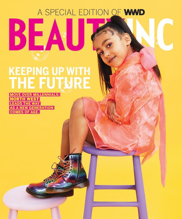 North West S First Magazine Cover Is Here And It S All About Beauty Kanye West Kim Kim Kardashian Kanye Kim Kardashian