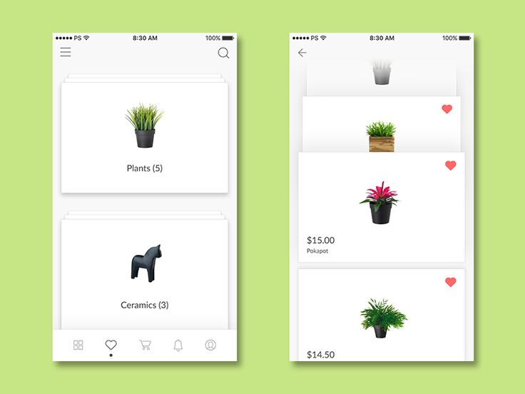 Deskmate & Craft E-Commerce - Favorite Screen by Rizaldy Gema - Dribbble