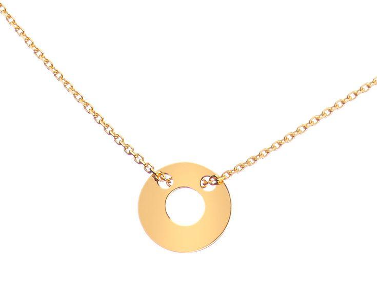 Złoty naszyjnik - wzór AP123-1494 / Apart