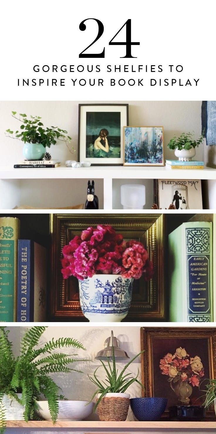 Shelfies Are the New Selfies (and Here Are 25 Gorgeous Bookshelves to Prove It) via @PureWow