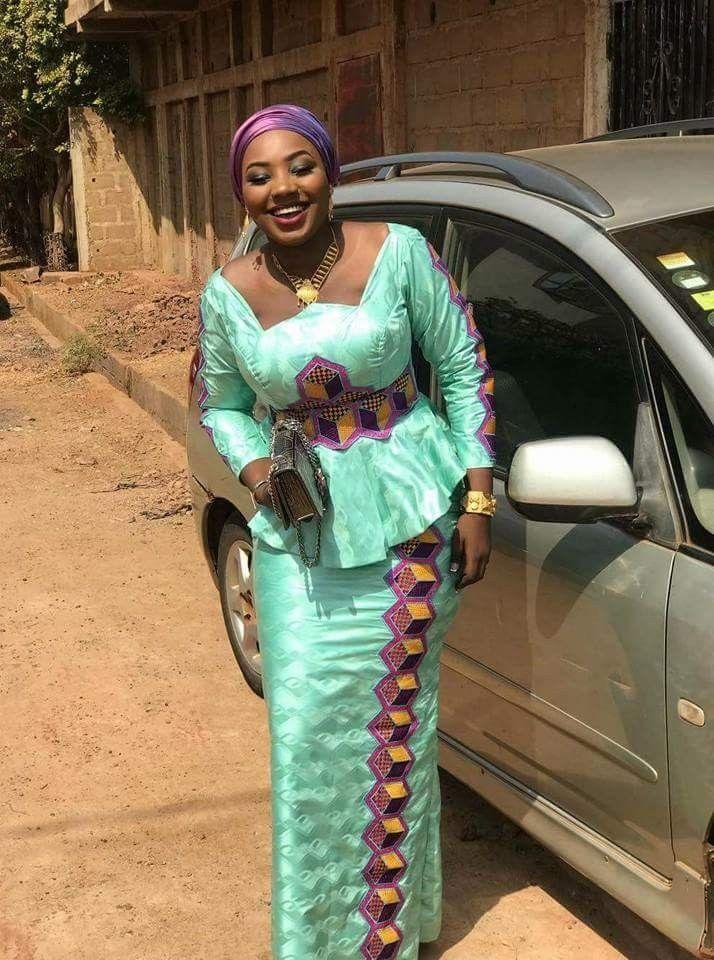 Tissu pagne leocadi k   Mode africaine, Robe africaine droite, Mode africaine robe