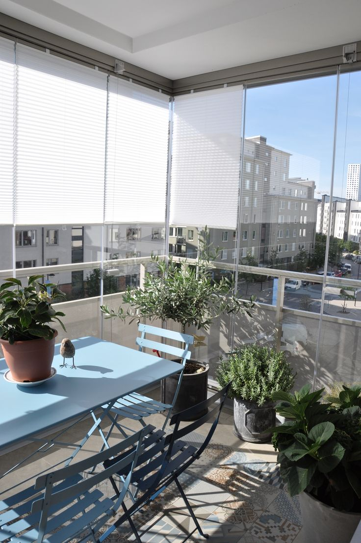 Terraza acristalada con lumon de suelo a techo espa a for Ideas suelo terraza