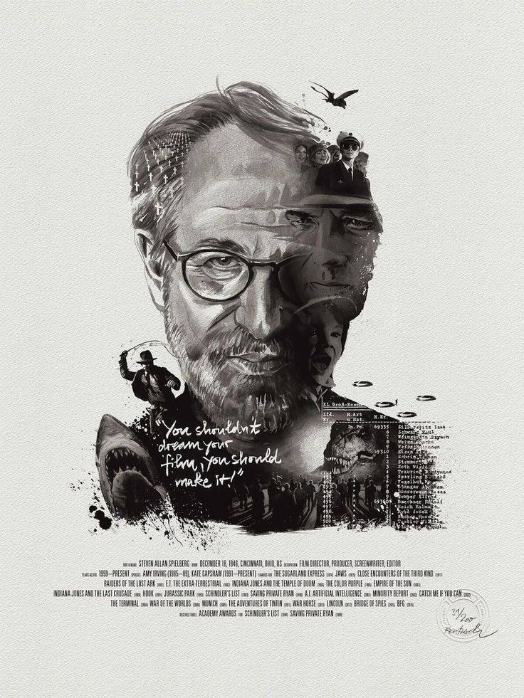 Superb Posters of Movie Directors and their Characters – Fubiz Media