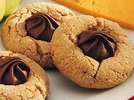 Dad's Mom's tried-and-true cookie recipe.  Nowadays, this is a winter holiday treat for me, but these can be made at any holiday.