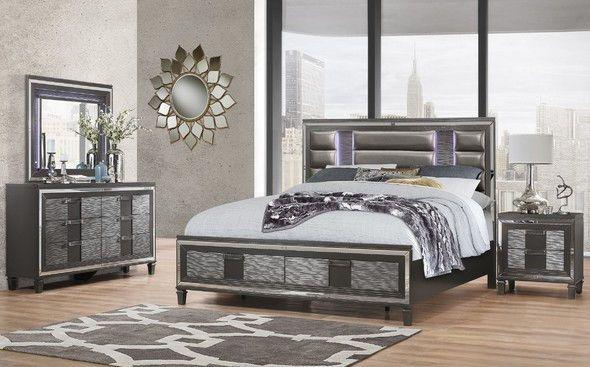 Pisa Queen Size Bed Bedroom Set Bedroom Sets Modern Bed Set