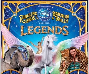 Ringling Bros. and Barnum & Bailey® Presents LEGENDS --GIVEAWAY! | Macaroni Kid