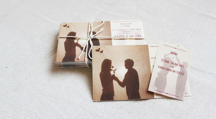 Wedding invitation M&M