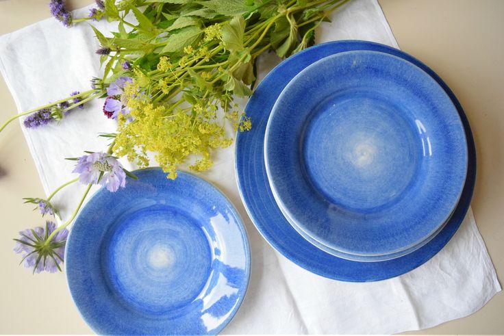 Blau ist meine Farbe: außergewöhnliches Geschirr von Mateus Keramik in leuchtendem Blau!