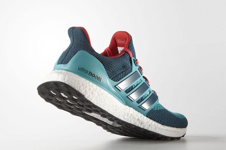 "adidas Ultra Boost ""Green & Shock Red"" - EU Kicks: Sneaker Magazine"