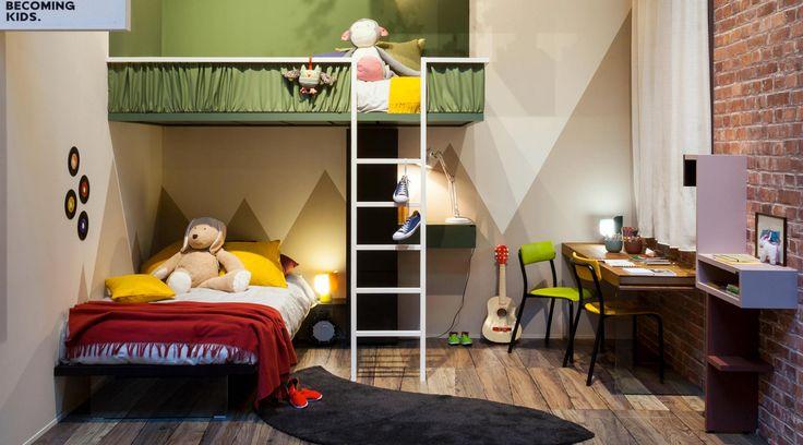 Oltre 25 fantastiche idee su mobili per cameretta dei - Coprirete vestiletto ikea ...