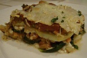 Vegetable Lasagna Recipe Gluten Free