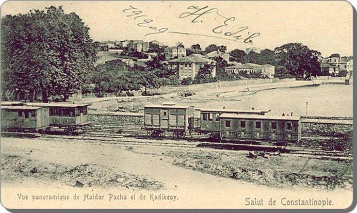 Haydarpaşa - 1909.Yeldeğirmeni'nin evleri de çok güzel görünüyor.