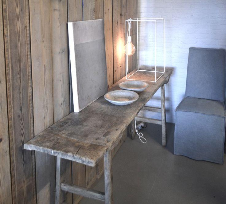 25 beste idee n over antiek bureau op pinterest geschilderde bureaus hergebruikt bureau en - Nachtkastje schans ...