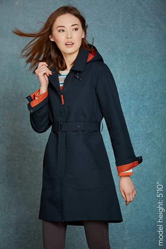 I need this coat! #seasalt  A thing of beauty - a long, waterproof, stylish raincoat! In Seasalt's unique fabrics, with features that are guaranteed to keep you dry & looking good.