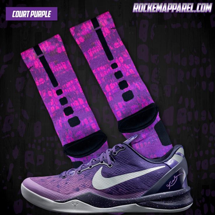 Collection  Nike Elites  Nike Elite Socks  Custom Nike  Elites SocksKobe 8 Elite Socks Black