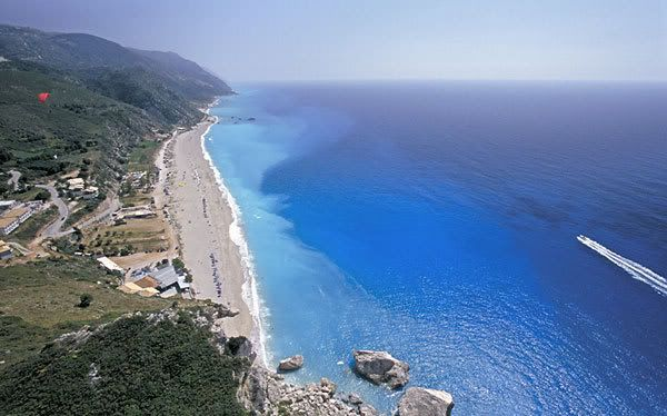 Volia beach ,Lefkada island