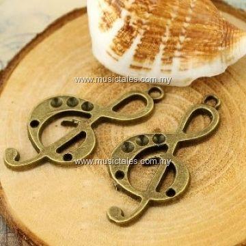 00295-Vintage Treble Necklace