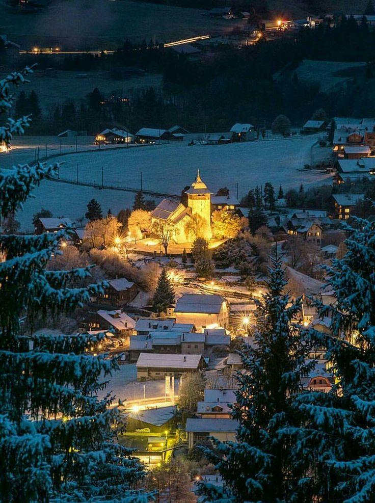 Château d'Öex # Vaud# Schweiz# Christmas Place# Weihnacht wetter