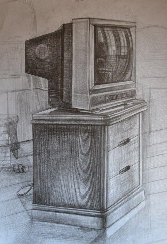 Güzel sanatlara hazırlık obje çizimi karakalem.