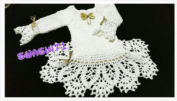 #swasin71#dress#reem#my_work#crochet#yarn#love#