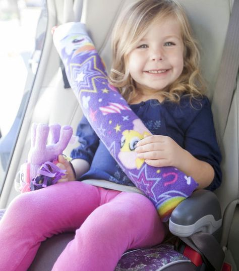 Seatbelt Pillow tutorial from Joann Fabrics