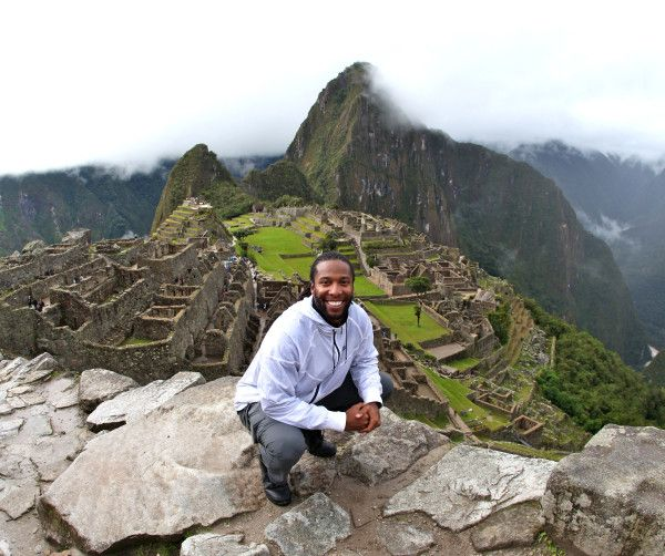 Either Larry Fitzgerald found a way to insert himself into the game Myst, or he's just hangin' out by Machu Pichu like it's nothing. sbn.to/xIXMef