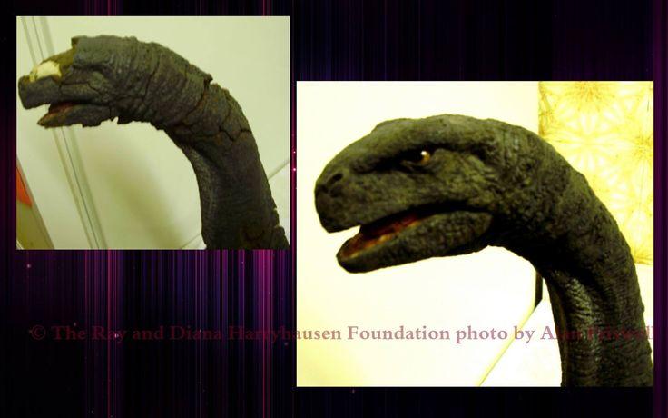 Restoration Of The One Million Years Bc Brontosaurus