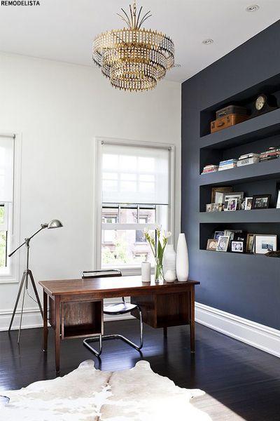 Dark Bookshelves Interiors Trend | sheerluxe.com
