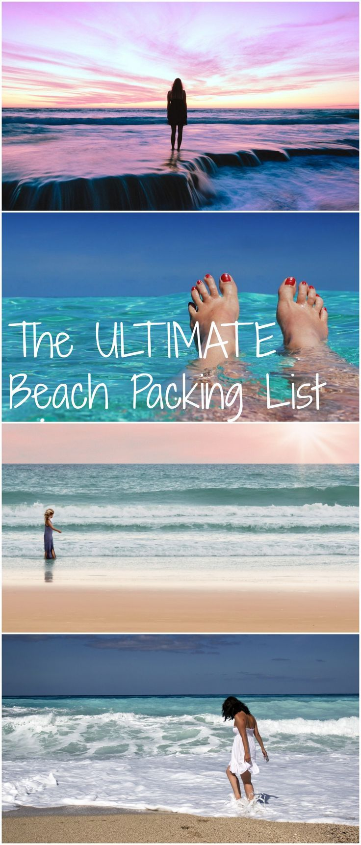 All you need to pack for your next beach vacation!