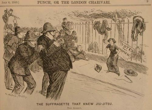 The Suffragette That Knew Jiu-Jitsu