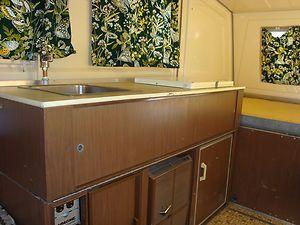 1974 Apache Mesa vintage pop-up travel trailer in RVs & Campers | eBay Motors