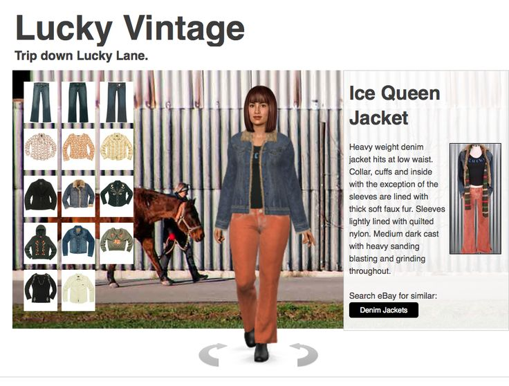 very cool site!  try-on vintage outfits then shop your outfit on eBay.