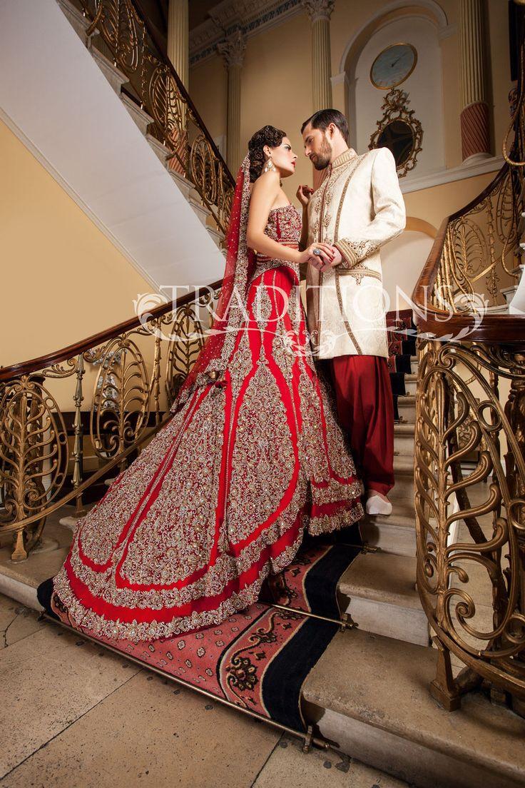 7 Best Indian Bridal Wear Images On Pinterest