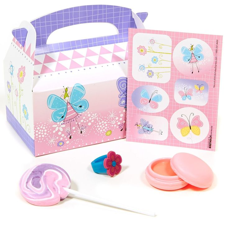 Kids Fairy Cake Mix Box